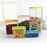 Набор контейнеров для сыпучих продуктов 6 шт., фото 2