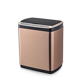 Сенсорное ведро для мусора с внутренним ведром Jah5111 20л Розовое Золото (Papatya-TM)