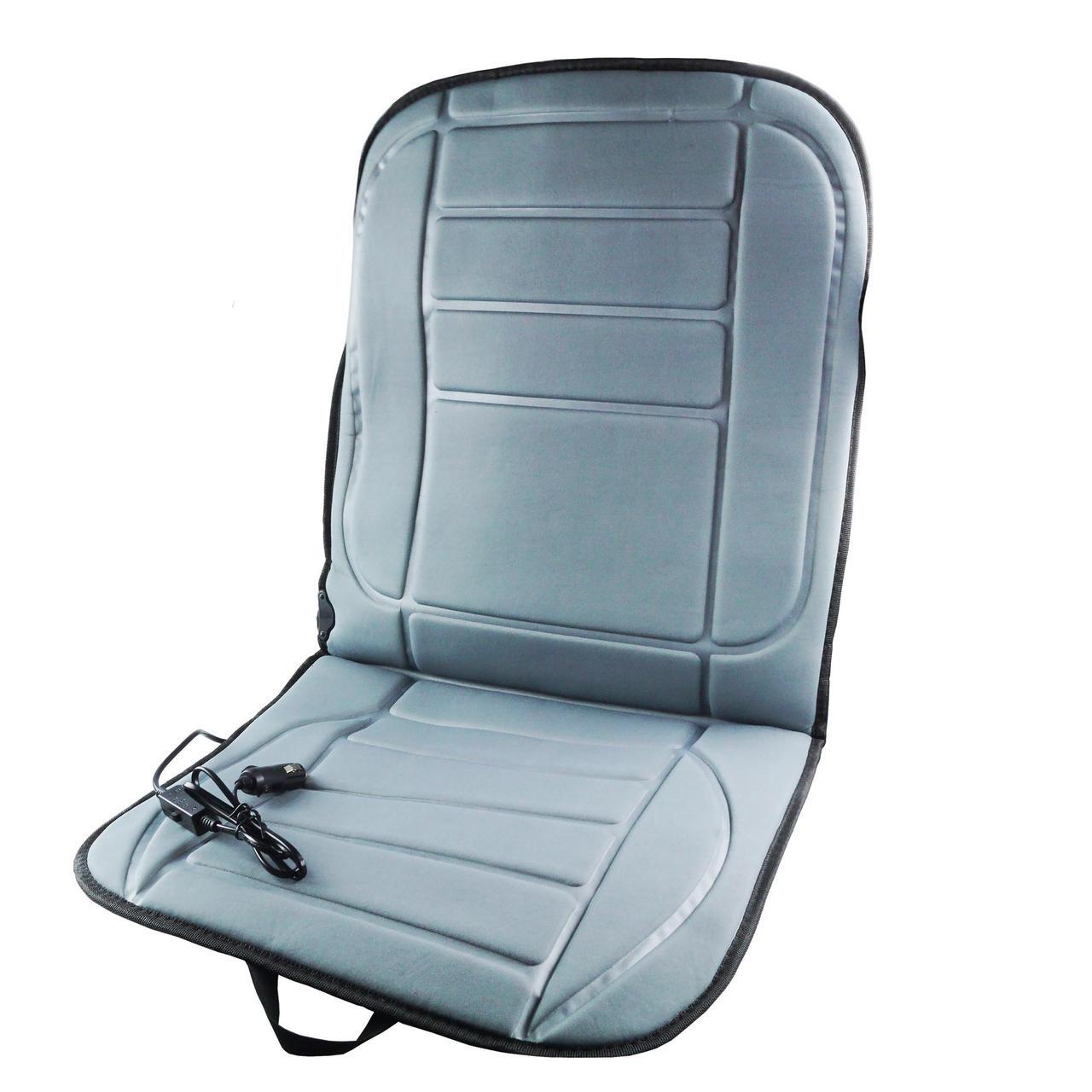 Накидка на сидіння авто з підігрівом від прикурювача універсальна