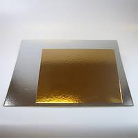 Подложка под торт квадрат 300х300 мм (50 шт)