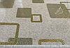 Силиконовая скатерть с рисунком на стол Мягкое стекло Soft Glass (Толщина 1.5мм)  Золотистые квадраты, фото 3