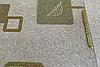 Силиконовая скатерть с рисунком на стол Мягкое стекло Soft Glass (Толщина 1.5мм)  Золотистые квадраты, фото 5