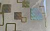 Силиконовая скатерть с рисунком на стол Мягкое стекло Soft Glass (Толщина 1.5мм)  Золотистые квадраты, фото 6