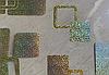 Силиконовая скатерть с рисунком на стол Мягкое стекло Soft Glass (Толщина 1.5мм)  Золотистые квадраты, фото 7