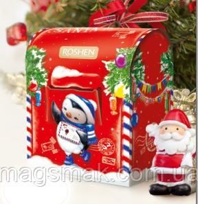 """Подарунок новорічний, """"№7 Пошта Санті"""", """"Рошен"""", 380 г"""