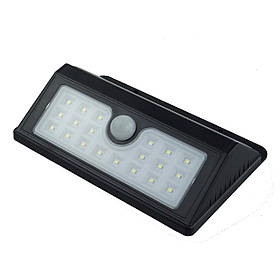 Уличный светильник сенсорный беспроводной на солнечной батарее 20 LED
