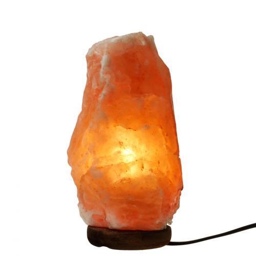 Соляна лампа Крістал, соляної світильник з підсвічуванням, нічник