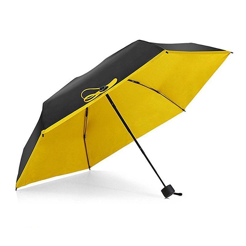 Кишеньковий парасолька Pocket Umbrella, жовтий