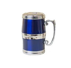 Магнітна термокружка Жива вода для приготування корисних напоїв, 350 мл, Синій