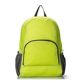 Рюкзак-трансформер складной водонепроницаемый, цвет зеленый