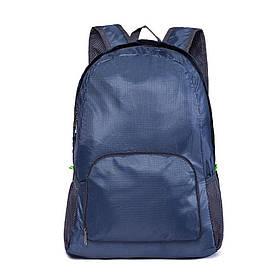 Рюкзак-трансформер складной водонепроницаемый, цвет темно-синий