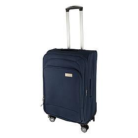 Чемодан Luggage HQ большой на колесиках 77х45 см, синий