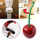 Йоршик для унітазу, оригінальний туалетний йоржик у формі Вишні, фото 3