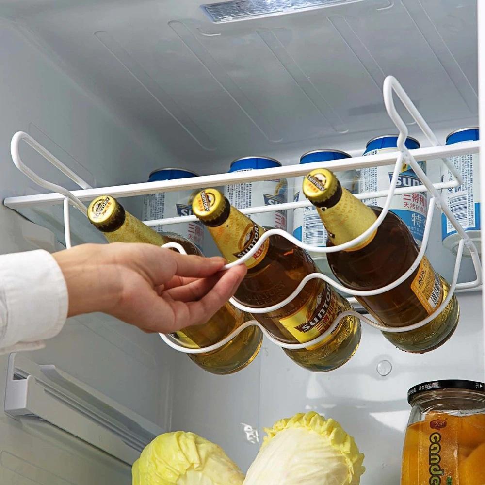Полка подвесная металлическая для бутылок, банок
