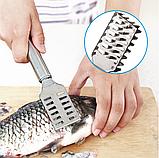Скребок для чистки рыбы, фото 2