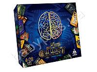 Ролевая карточная игра 4в1 BEST QUEST. Danko toys BQ-02-01. Рус
