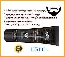 Профессиональная крем Краска камуфляж для мужчин estel  бороды и усов тонирование  Alpha Homme 6/0 темно русый