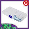 Распродажа! Пластиковый контейнер, органайзер для мелочей, (68791), коробка для украшений