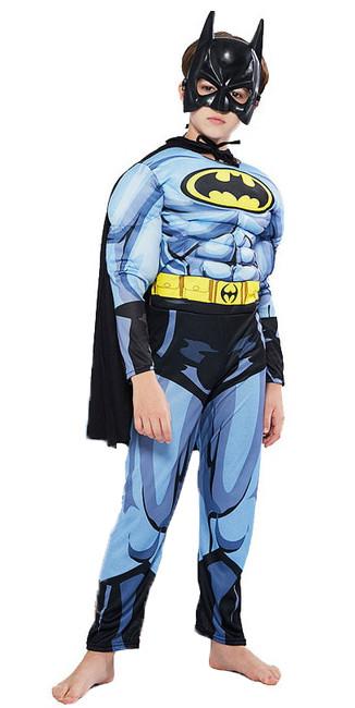 Маскарадный костюм Бэтмен с мышцами для мальчика - Batman, Superhero, Party Fancy, for Boy, Disney