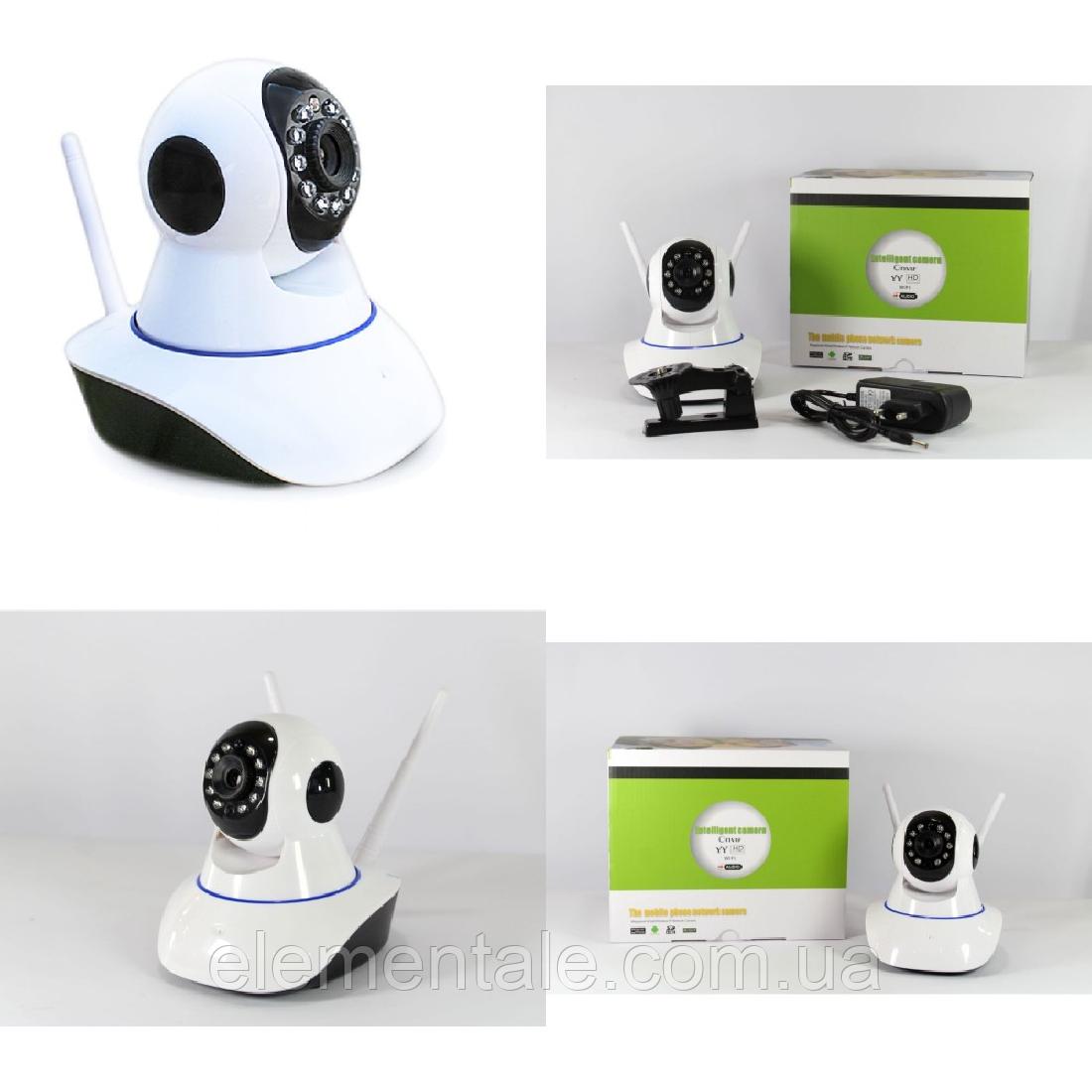 Беспроводная поворотная IP камера видеонаблюдения Good Idea