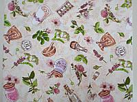 Ткань Вафельная Ширина 150 см. Французский Мотив, фото 1