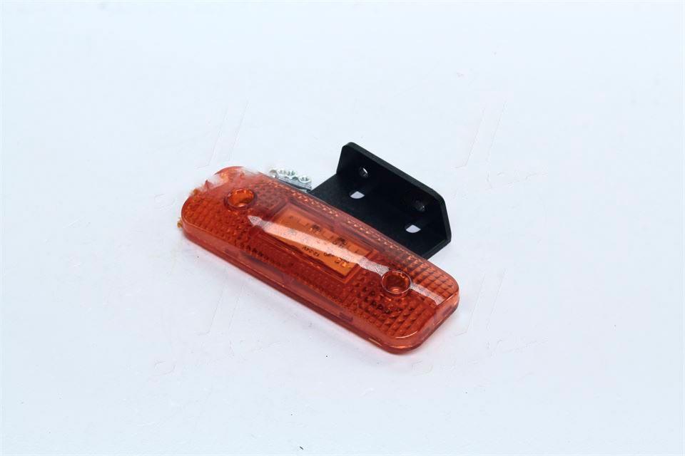 Фонарь габаритный 24V LED Unipoint желтый  (TEMPEST) TP02-57-016