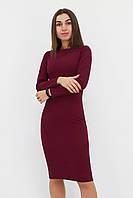 Зручне повсякденне плаття-футляр Helga, марсала