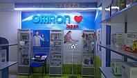 Рекламная вывеска компании Omron Japan