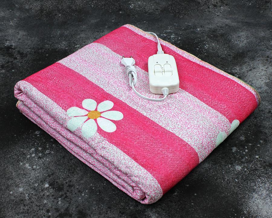 Электропростынь двоспальне Lux Electric Blanket Chamomile 140x155 см