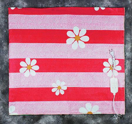 Электропростынь двоспальне Lux Electric Blanket Chamomile 140x155 см, фото 2