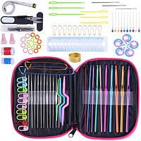 Набор Разноцветных Алюминиевых Крючков ILkea для Вязания, Швейные Принадлежности для Вязания, 100 шт (IKSW012)