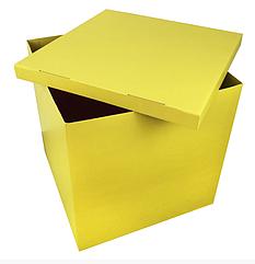 Коробка сюрприз большая Желтая