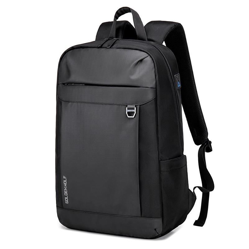 """Легкий городской рюкзак Golden Wolf GB00400 из водоотталкивающей ткани, для ноутбука 15,6"""", 20л"""