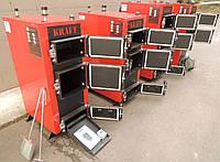 Универсальный твердотопливный котел Kraft E new 24 кВт сталь 5 мм!! длительного горения / Крафт Е нью