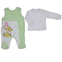 Комплект для девочки детский для новорожденных, фото 1