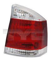 Левый задний фонарь красный белый OPEL VECTRA C GTS 11-0318-21-2