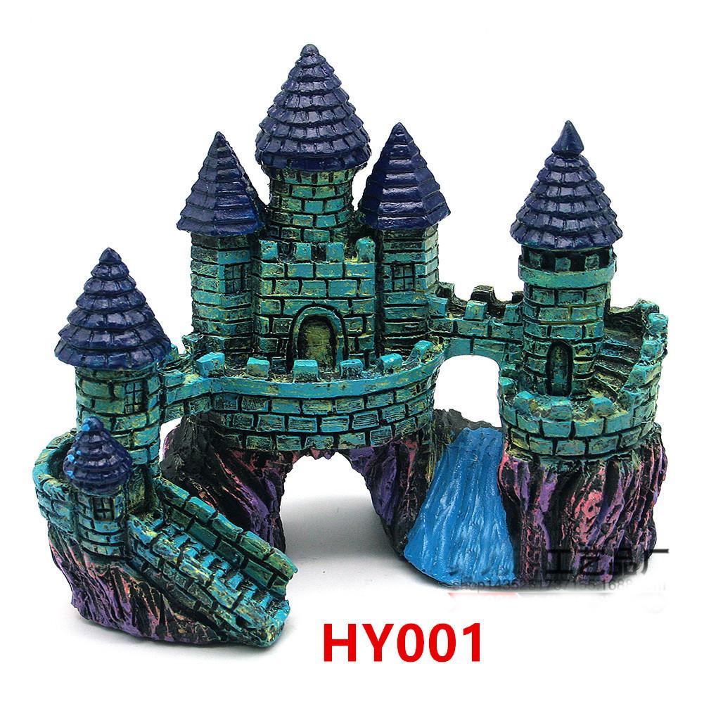 Декор для аквариума Замок HY001