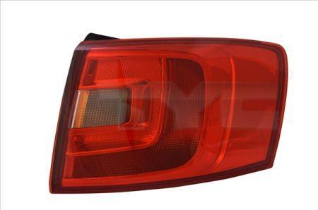 Левый задний фонарь внешний VOLKSWAGEN Jetta 11-   11-12166-00-9