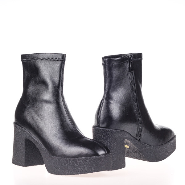 Женские стильные ботинки  Fabio Monelli SCR313-04 BLACK P KOGA осень 2020
