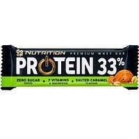 Протеиновый батончик GoOn Батончик Protein 33% ( 50 г) соленая карамель