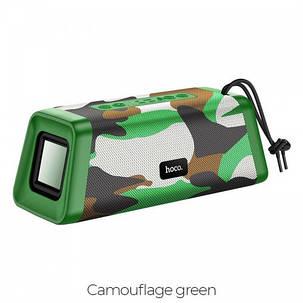 Портативная Bluetooth Колонка Hoco BS35 Classic Sound Sports Camouflage green, фото 2