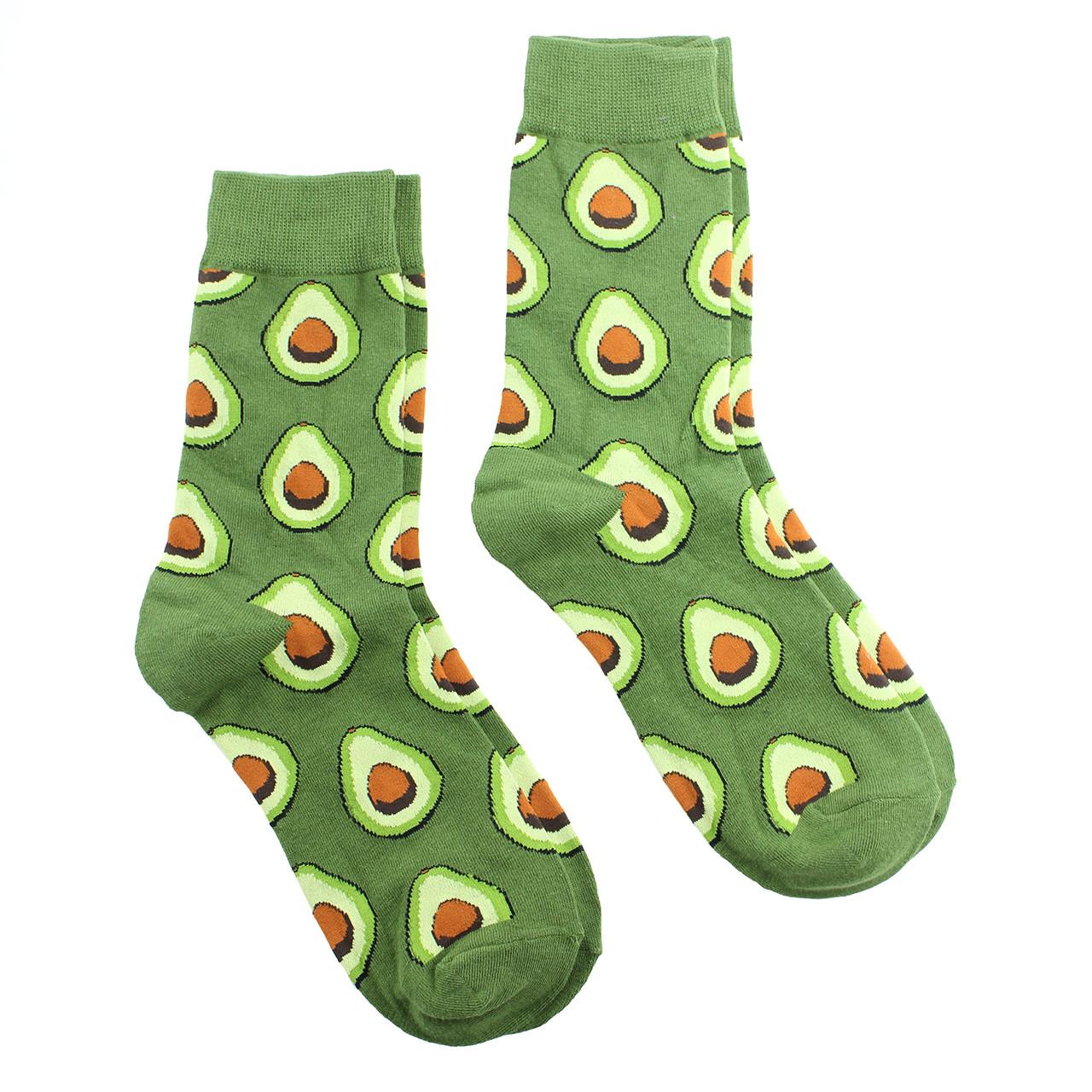 Шкарпетки високі з авокадо зелені Avocado р. 36-40
