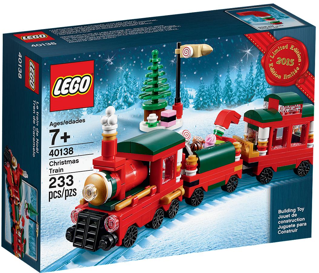 Lego Iconic Рождественский поезд 40138