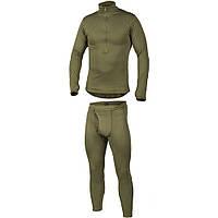 Комплект термобелья мужской для холодной погоды Для рыбалки и охоты Mil-Tec Gen III Оливковый (27177) S, фото 1