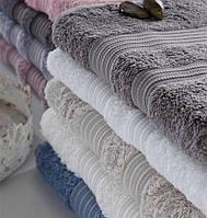 Бамбуковое махровое полотенце класса люкс