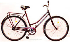 Велосипед Спутник 26 (Ж) (метал. защита цепи)