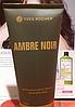 Мужской парфюмированный гель для тела и волос (как шампунь)200 мл черная амбра Ив роше Ambre Noir, фото 2