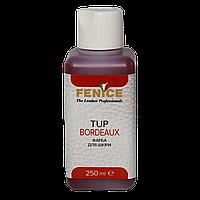 Фарба для шкіри Fenice TUP Bordeaux, колір Бордо, 250 мл