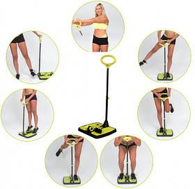 Фитнес-тренажер для всего тела Supretto Booty MaxX PRO | Многофункциональный фитнес-тренажер