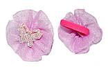 """Дитячі резиночки для волосся """"блискуча метелик"""", фото 3"""